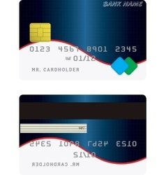 Variant of credit card vector
