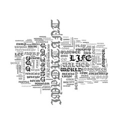 what do you truly value most text word cloud vector image vector image