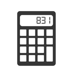 Calculator maths economy vector