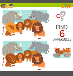 Find the differences game vector