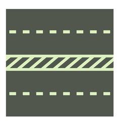 Highway icon cartoon style vector