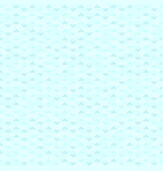 Cyan triangle pattern seamless vector