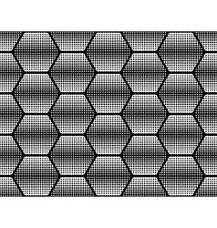 Design seamless monochrome dots background vector