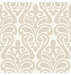 Ikat damask seamless background pattern vector