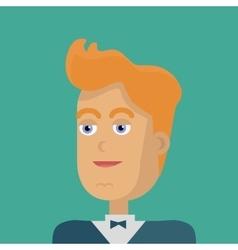 Young businessman avatar vector