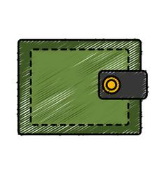 Wallet accessory design vector