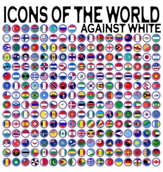 world icons vector image
