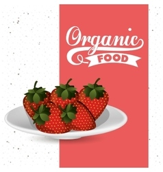 Farm fresh food design vector