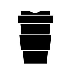 cup to go vector image vector image