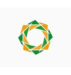 logo design element Flower floral vector image vector image