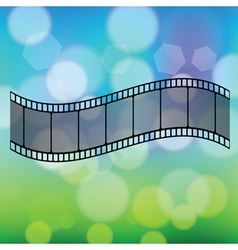 old film strip vector image