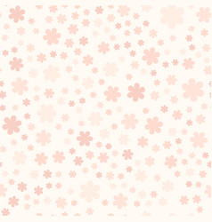 rose flower pattern seamless vector image