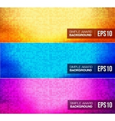 Simple flat gradient background vector