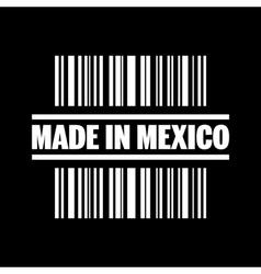 Made in mexico icon vector
