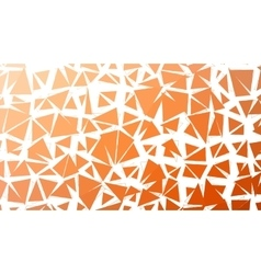Abstract red orange gradient lowploly of vector