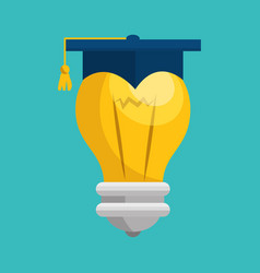 Bulb light handmade drawn vector
