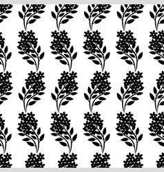 flower bouquet pattern vector image