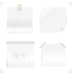 White Papers Collection vector image