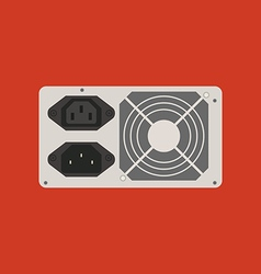 Power supply icon vector