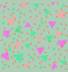 colorful abstract pattern with green and pink vector image