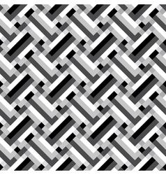 geometric grid ornament vector image