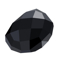 isolated gemstone vector image