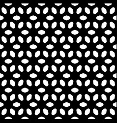 seamless pattern black and white texture vector image vector image