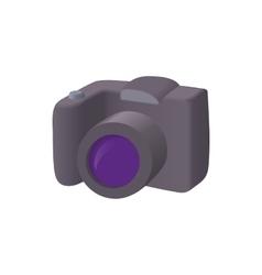 Slr camera icon cartoon style vector