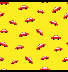 Toy car pattern vector