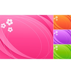 abstract colorful backgrounds vector image
