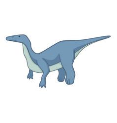 brontosaurus icon cartoon style vector image