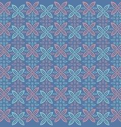 Javanese floral pattern vector image