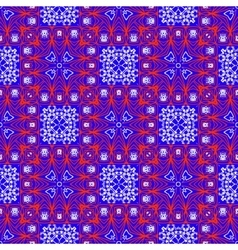 Seamless ethnic print pattern vector image vector image