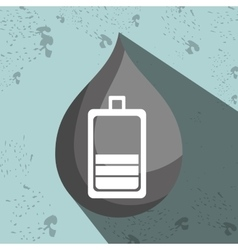 symbol of battery isolated icon design vector image vector image
