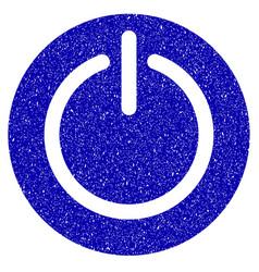 Turn off power icon grunge watermark vector