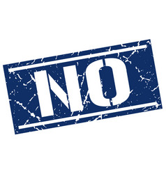 No square grunge stamp vector