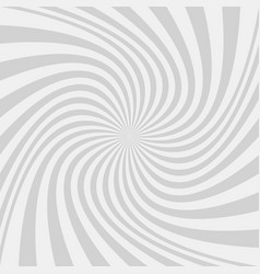 Light grey abstract spiral design background - vector