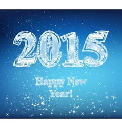 Happy new year 2015 christmas vector