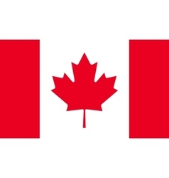 Canada flag image vector
