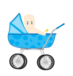 Sidercar with child vector