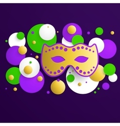 Mardi gras background vector