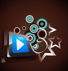 media background vector image