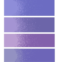 spray paint gradient detail in purple lavender vector image vector image
