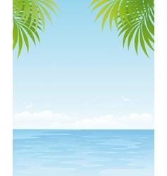 Ocean poster vector