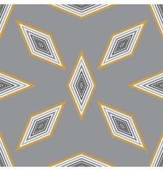 Seamless geometric pattern with a few diamonds vector