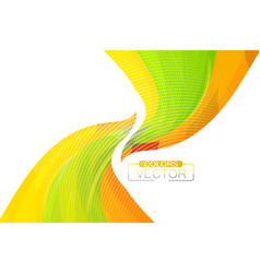 Abstract translucent colors curve vector