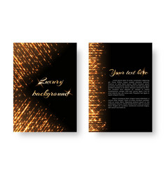 cover with bright rays vector image vector image