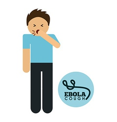 Ebola design vector
