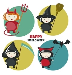 Halloween costume vector