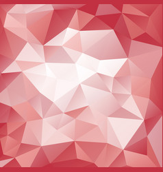 Pink and red polygonal pattern vector